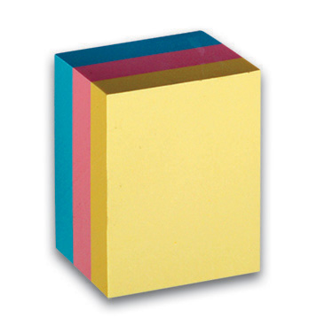Bloček samolep.51x38mm pastel 300l.CON