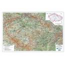 Podložka stolní, mapa ČR 67x44