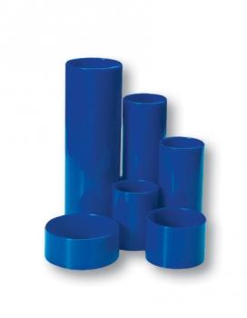 Stojánek na tužky válec 6 dílů modrý
