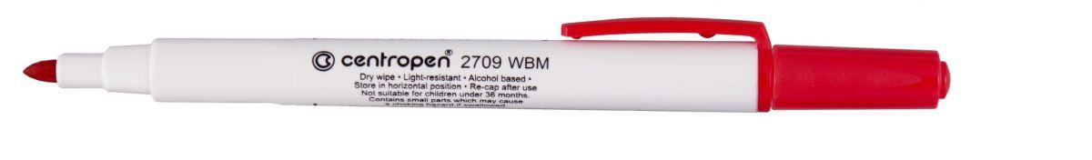 Popisovač 2709 červený 1,8mm na bílé tabule