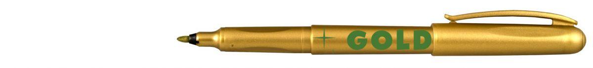Popisovač 2670 zlatý 1mm