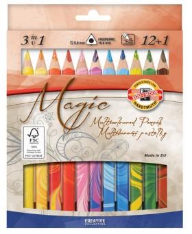 Pastelky 3408 12+1 MAGIC 3HR TR11 KIN