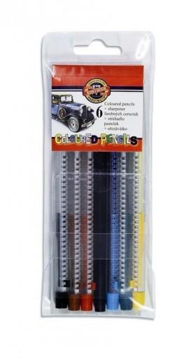 Pastelky 4011 6 Scala mechanické KIN