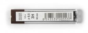 Tuhy do mikrotužky 4152 3H 0,5mm 12ks KIN