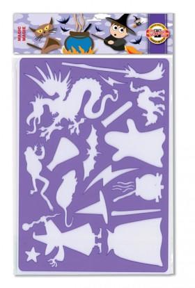 Šablona 9820 MAGIC KIN