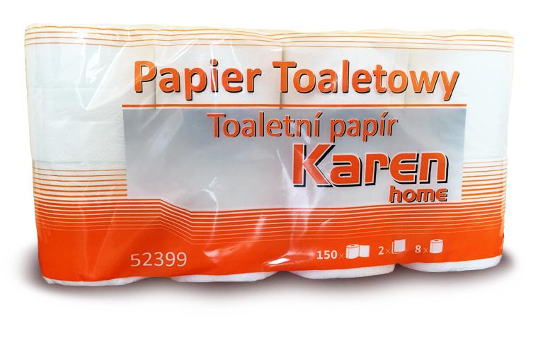 Toal.papír Karen 2-vrstvý/8ks