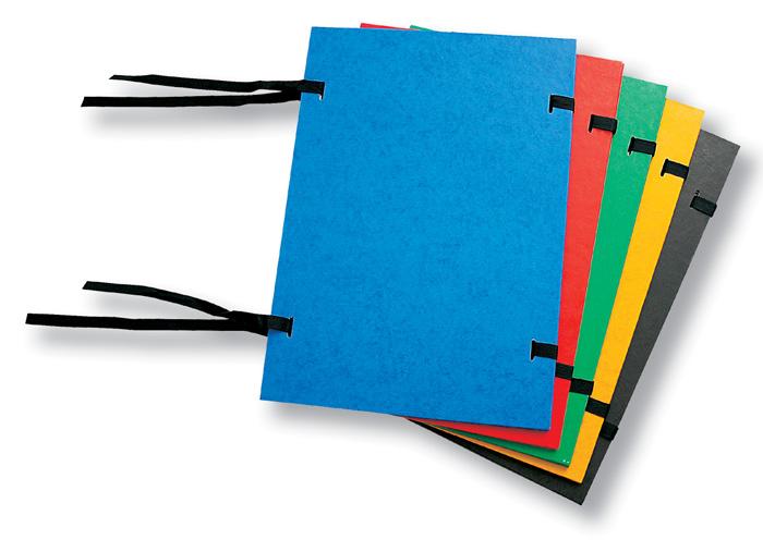 Spisové desky s tkanicí modré