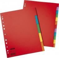 Rozdružovač plast.A4 10 barev