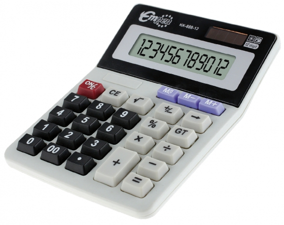 Kalkulačka KK888-12 115x143x35