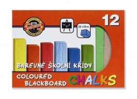 Křída školní barevná 12b.KIN