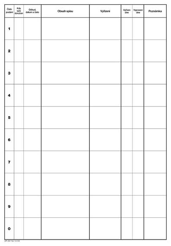 Manažerský plánovací záznamník A3 (50listů)