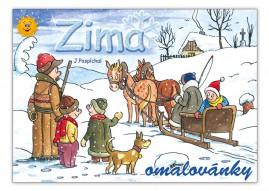 Omalovánky MFP Zima