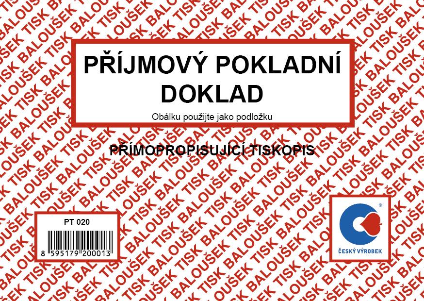 Příjmový pokl.doklad jedn.PT020 NCR Bal.