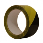 Páska žluto-černá 50x66 lepicí bezpečnostní