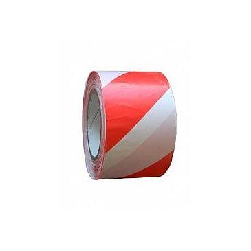 Páska bezpeč.nelep.70x200 červeno-bílá