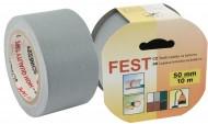 Páska textilní na koberce 50x10 šedá