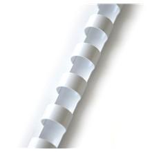 Plastový hřbet 19mm bílý