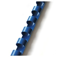 Plastový hřbet 19mm modrý