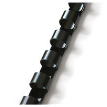 Plastový hřbet 28,5mm černý