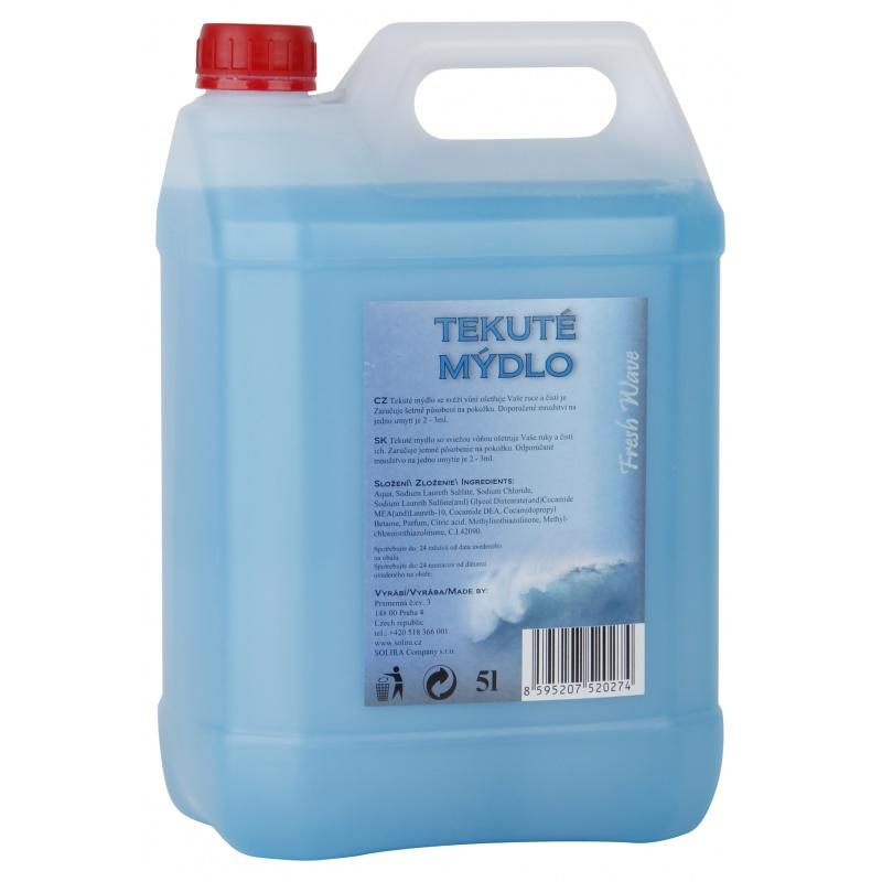 Mýdlo tekuté 5L.