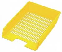 Zásuvka kancelářská žlutá