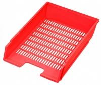 Zásuvka kancelářská červená