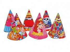 Klobouček karnevalový 6ks