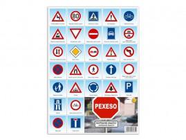Pexeso M Dopravní značky
