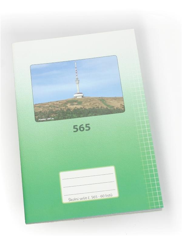 Sešit A5, 565