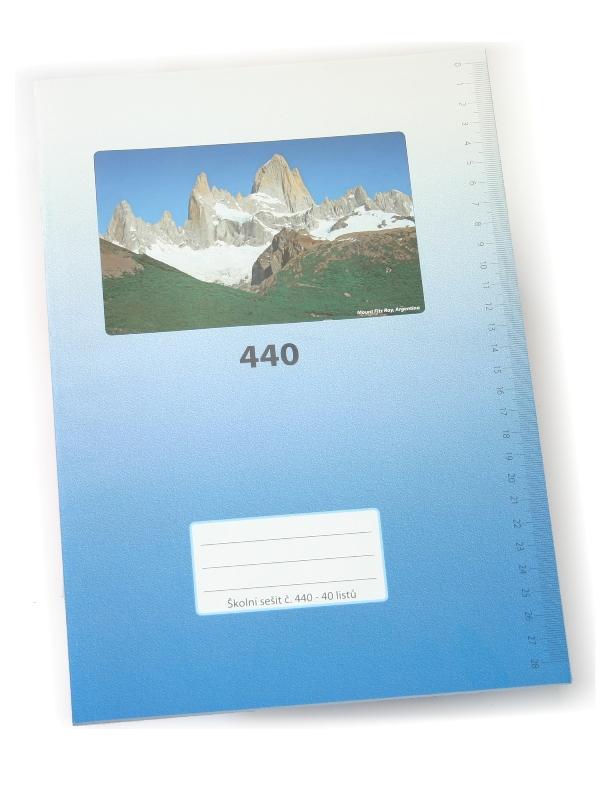 Sešit A4, 440
