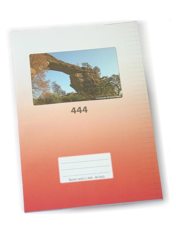 Sešit A4, 444