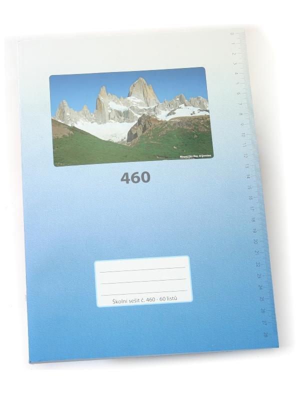 Sešit A4, 460