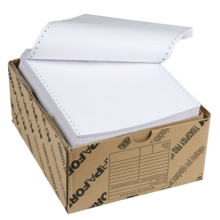 Tabelační papír 210x12 1+0 bez BP